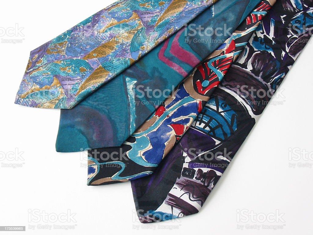 Ugly Ties stock photo