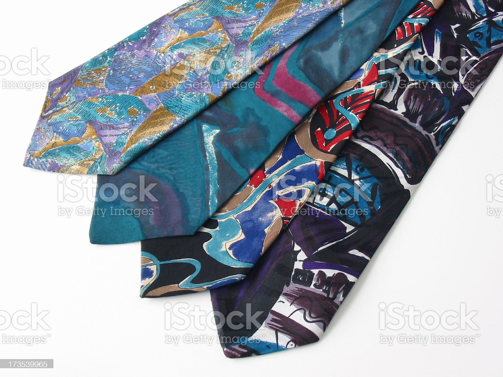 Ugly Ties royalty-free stock photo