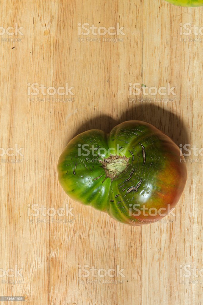 ugly tomato royalty-free stock photo
