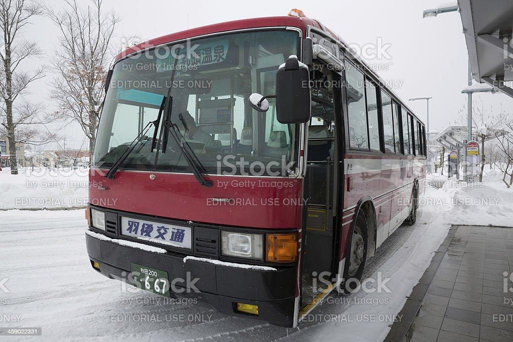 Ugo Kotsu Bus in Japan stock photo