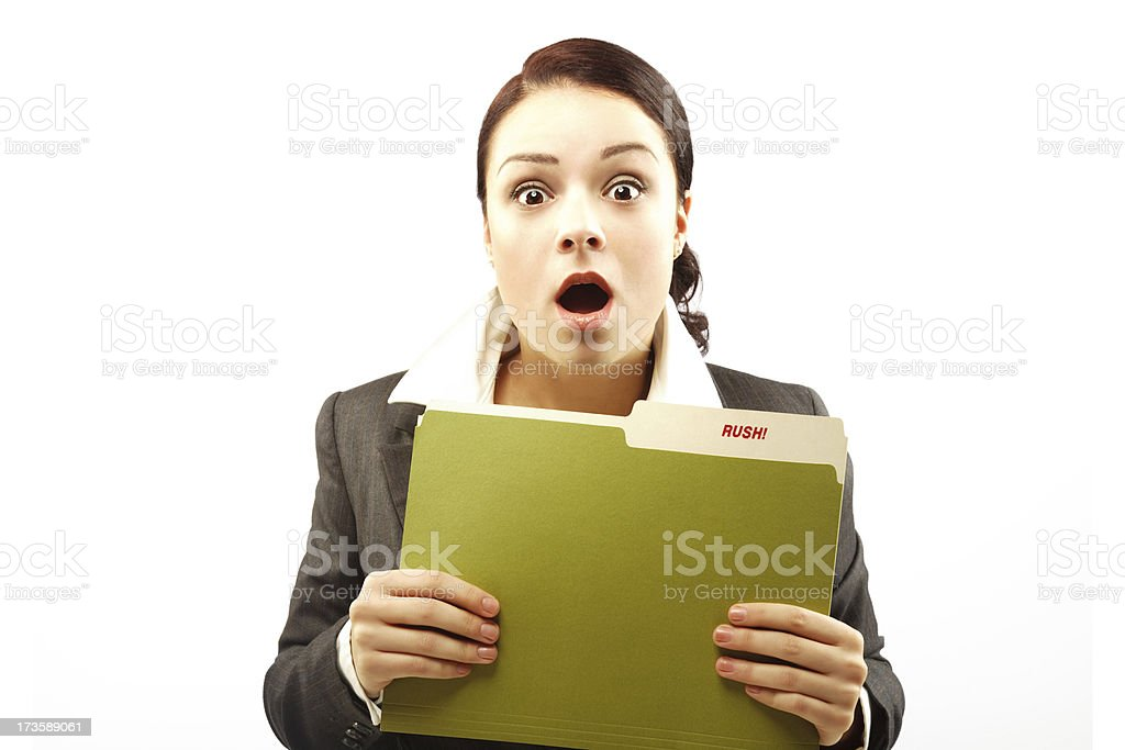 Uh oh! royalty-free stock photo