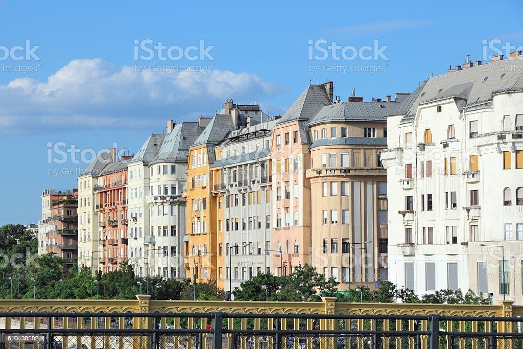 Ujpest, Budapest stock photo