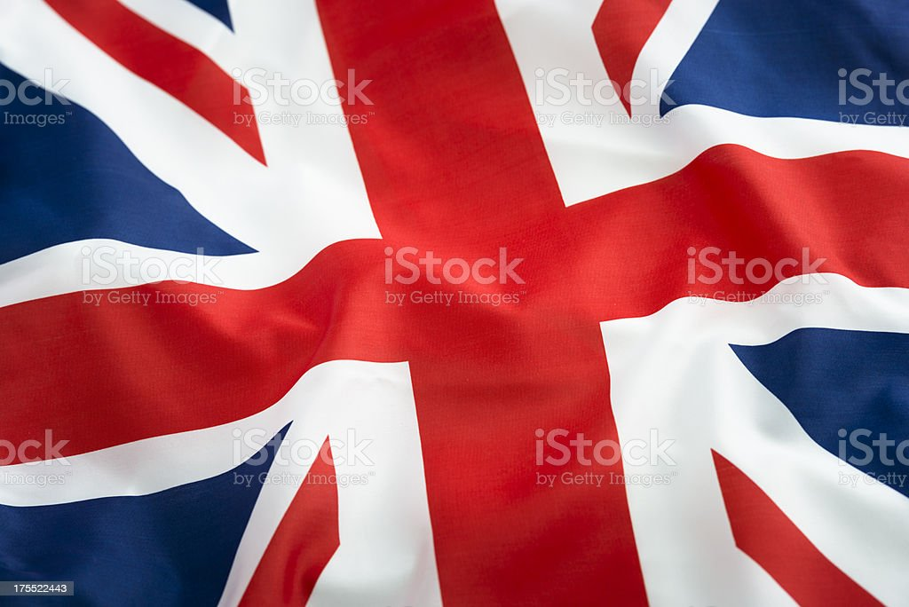 Uk british flag stock photo