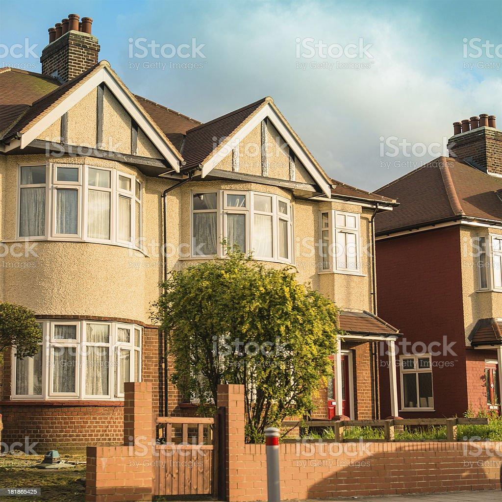 Uk british house - London stock photo