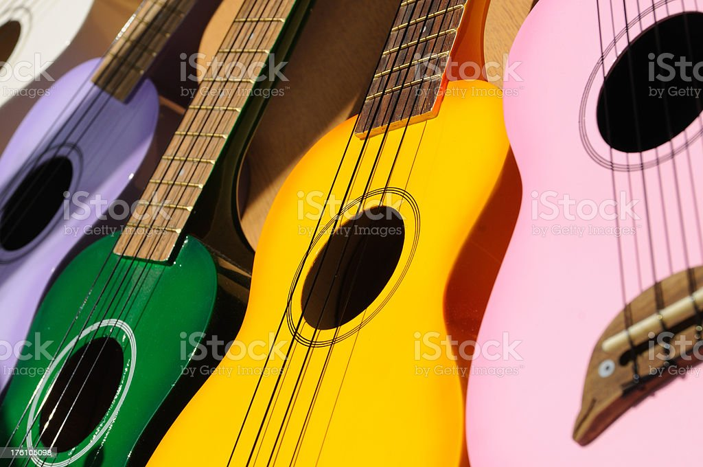 Ukeleles royalty-free stock photo