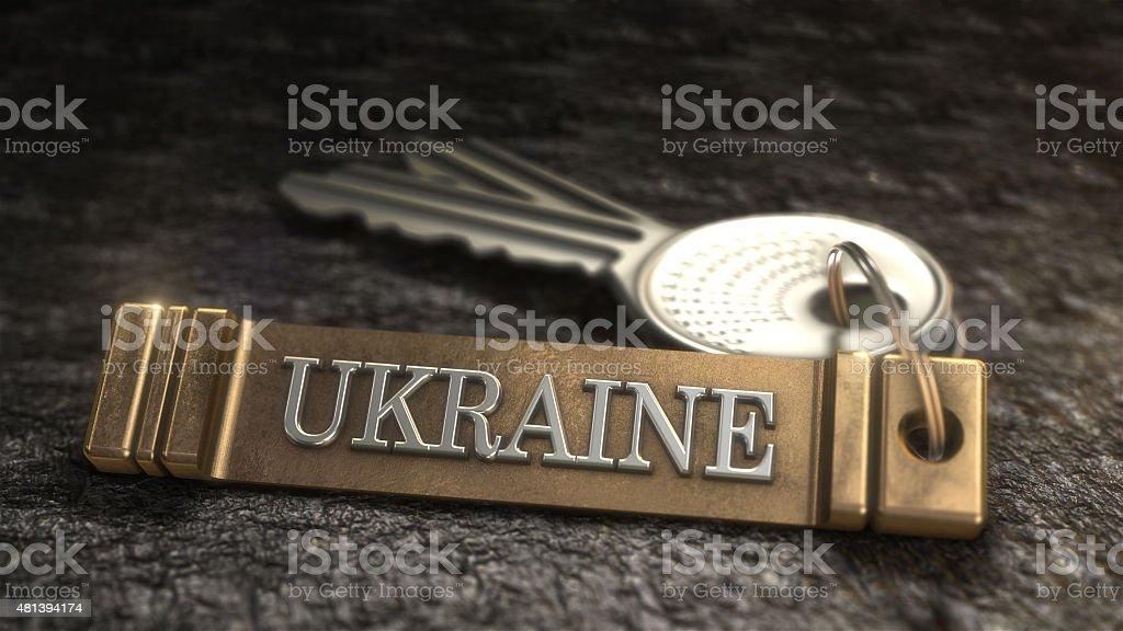 L'Ukraine Concept photo libre de droits