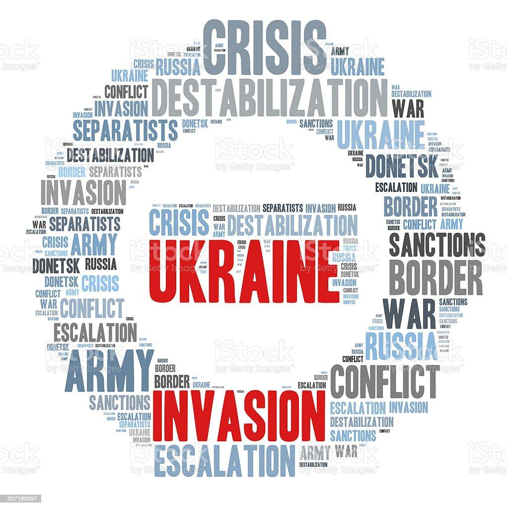 Ukraine crisis stock photo