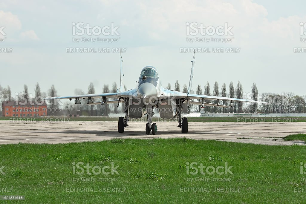 Ukrainian Air Force MiG-29 stock photo