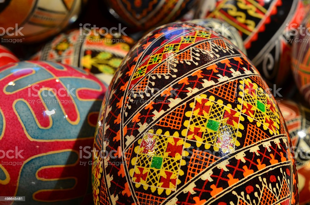 Ukrainian Easter Eggs royalty-free stock photo