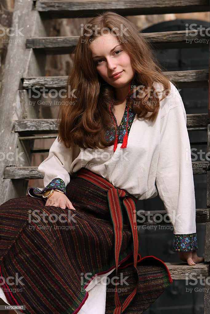 Ukrainian Girl stock photo