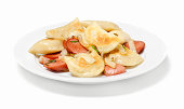 Ukrainian Pan Fried Perogies