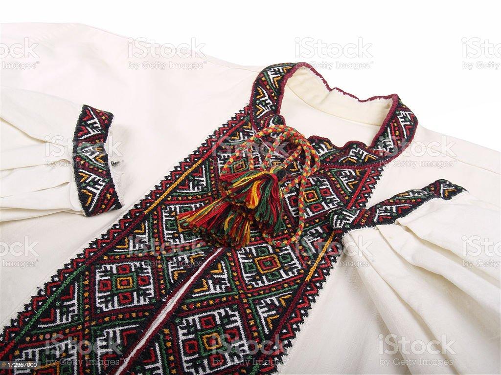 Ukrainian shirt royalty-free stock photo