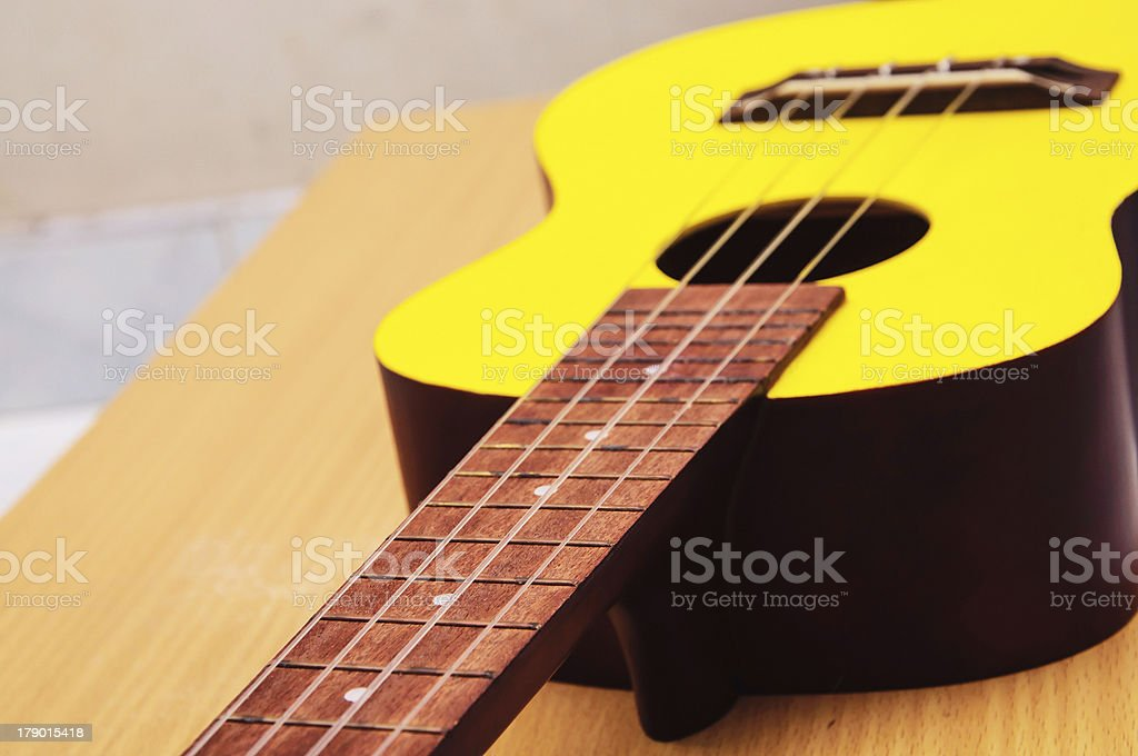 Ukulele Close Up royalty-free stock photo