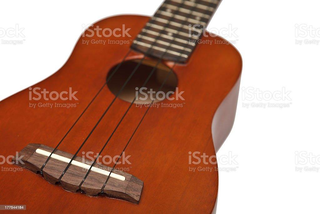 Ukulele, four strings musical instrument royalty-free stock photo
