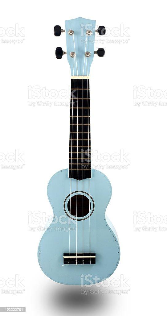 Ukulele guitar stock photo