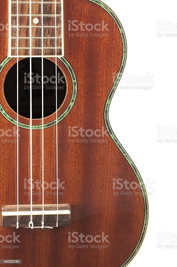 Ukulele guitar royalty-free stock photo