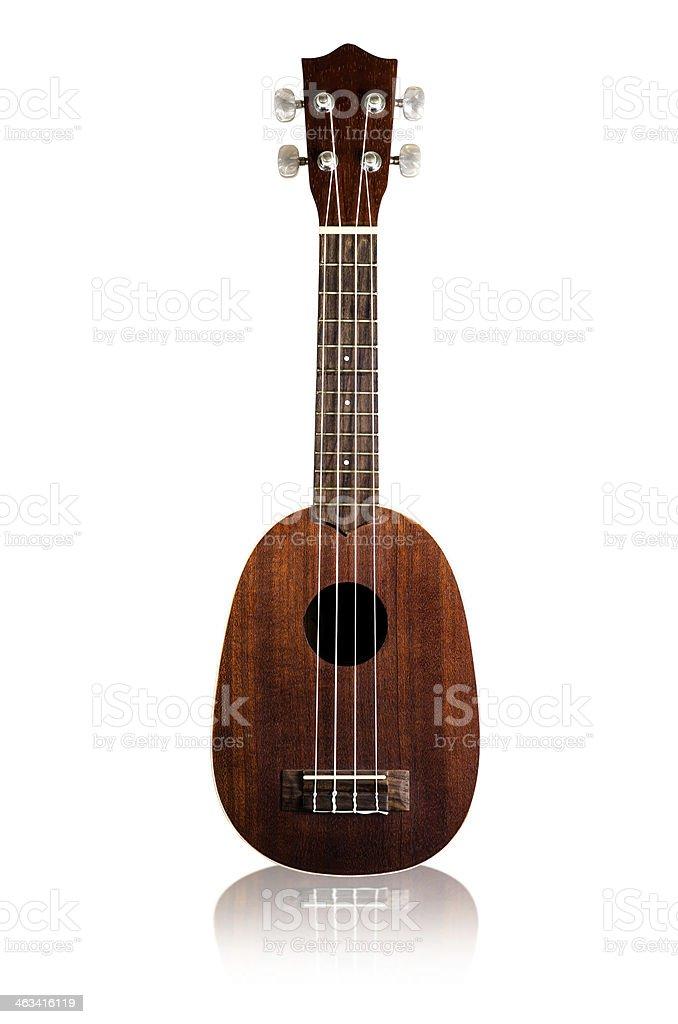 ukulele   isolated stock photo