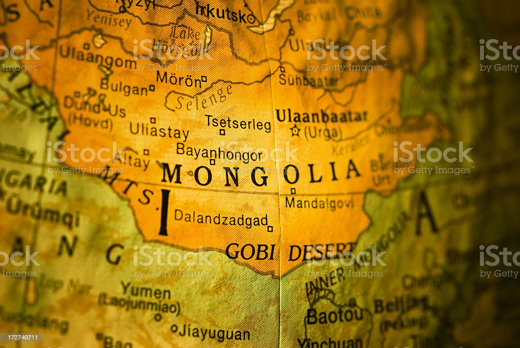 Ulaanbaatar royalty-free stock photo