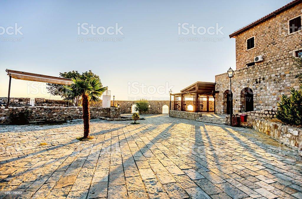 Ulcinj Old town , Montenegro stock photo