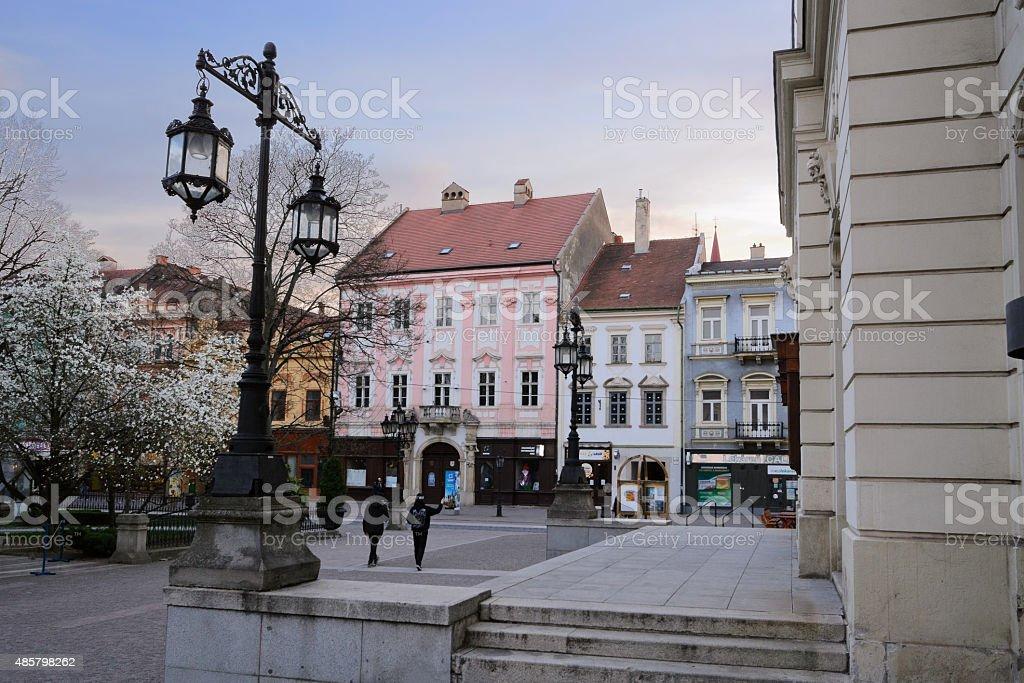Ulica Hlavna stock photo