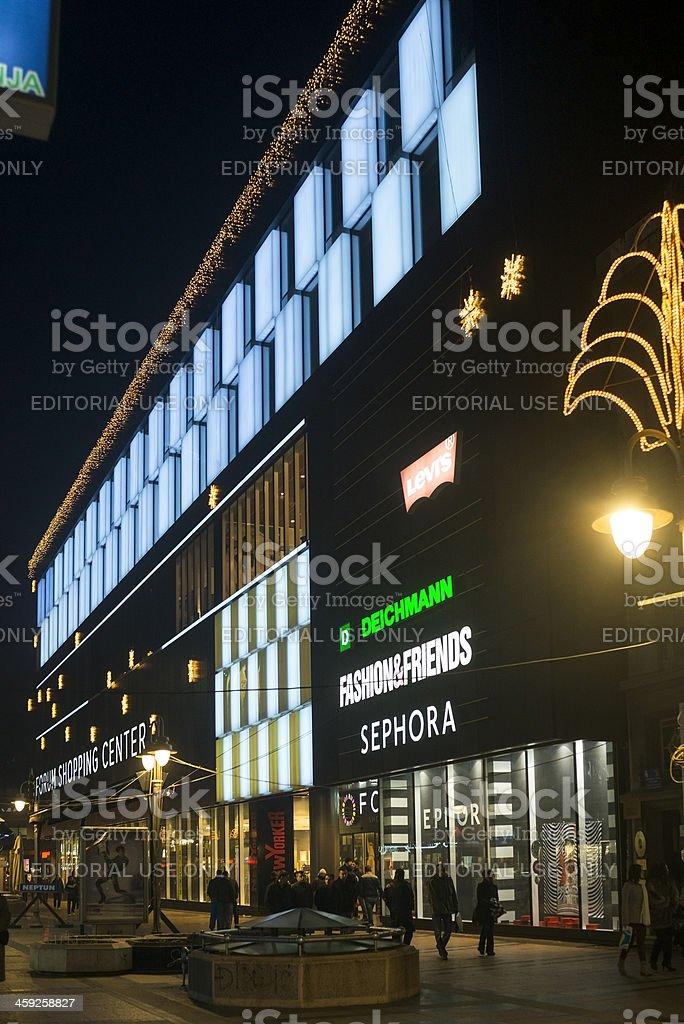 Ulica Pobede, Niš royalty-free stock photo