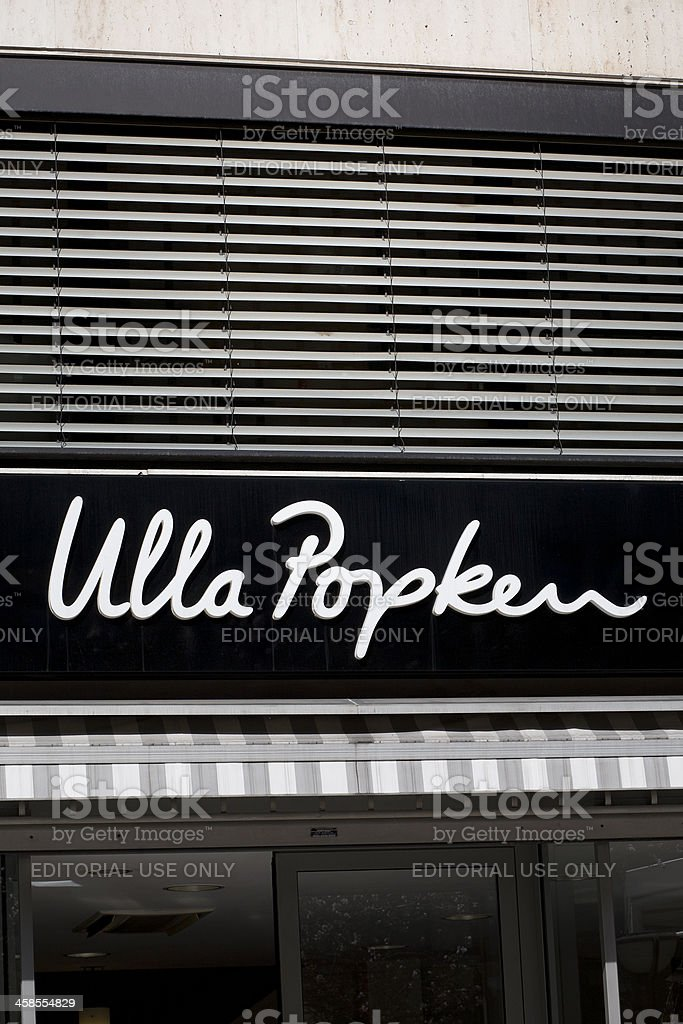Ulla Popken Store stock photo
