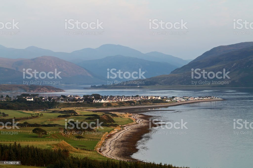 Ullapool, Ross and Cromarty stock photo