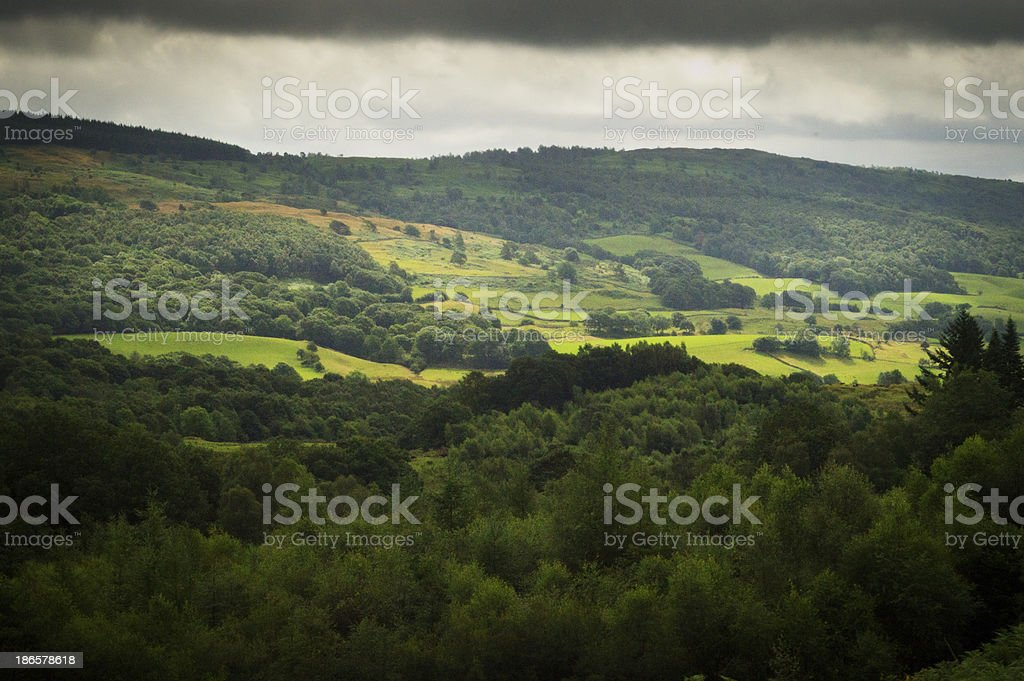 Ullswater valley royalty-free stock photo