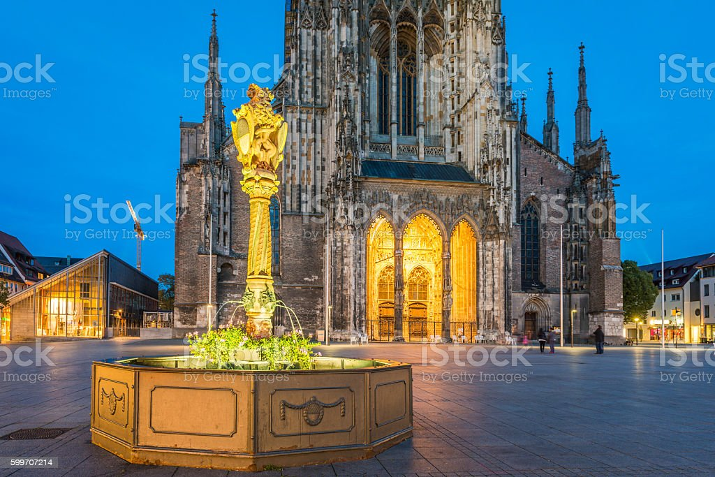 Ulm, Germany stock photo