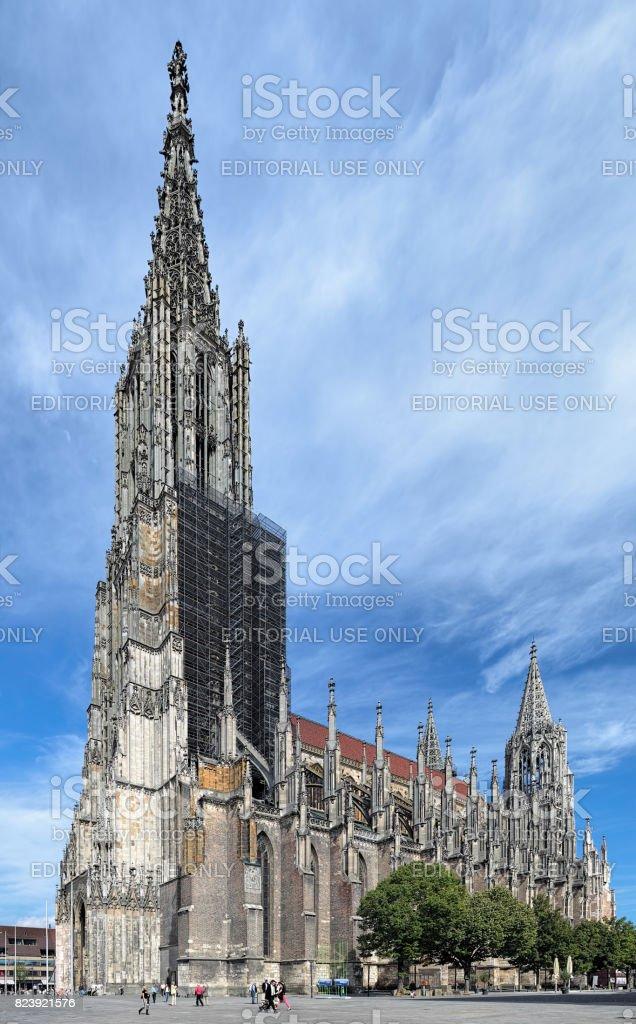 Ulm Minster, Germany stock photo