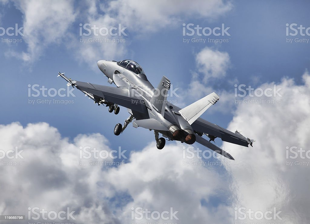 Ultimate Fighter Jet royalty-free stock photo