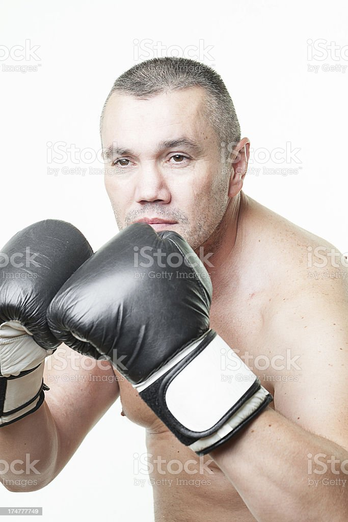 Ultimate Fighter royalty-free stock photo