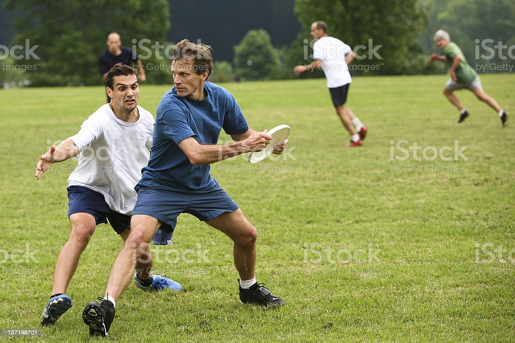 ultimate frisbee royalty-free stock photo