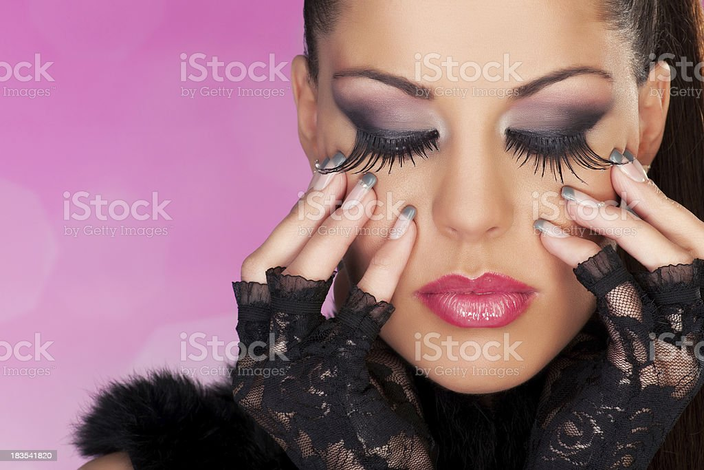 Ultimate Make Up royalty-free stock photo