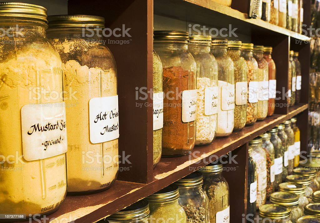 Ultimate Spice Rack royalty-free stock photo
