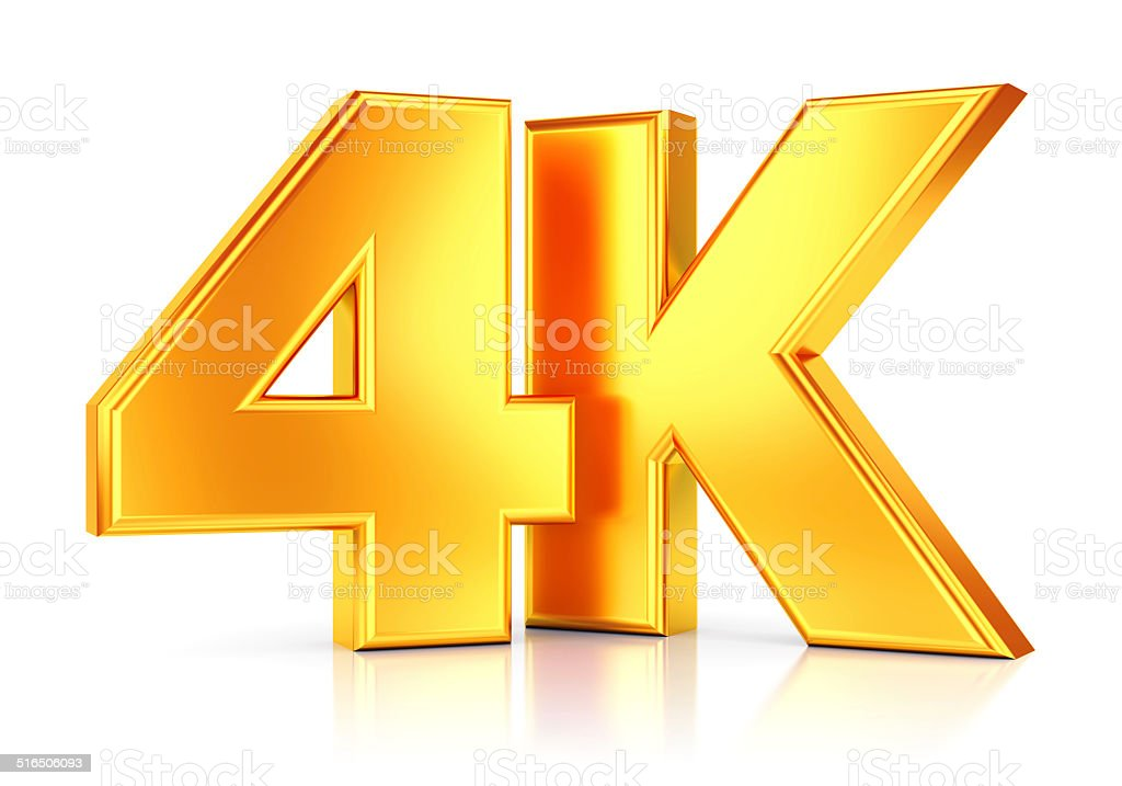 Ultra HD TV icon stock photo