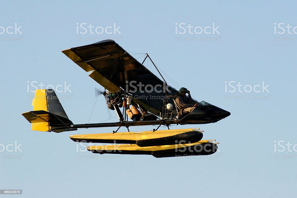 Ultra light AirPlane royalty-free stock photo