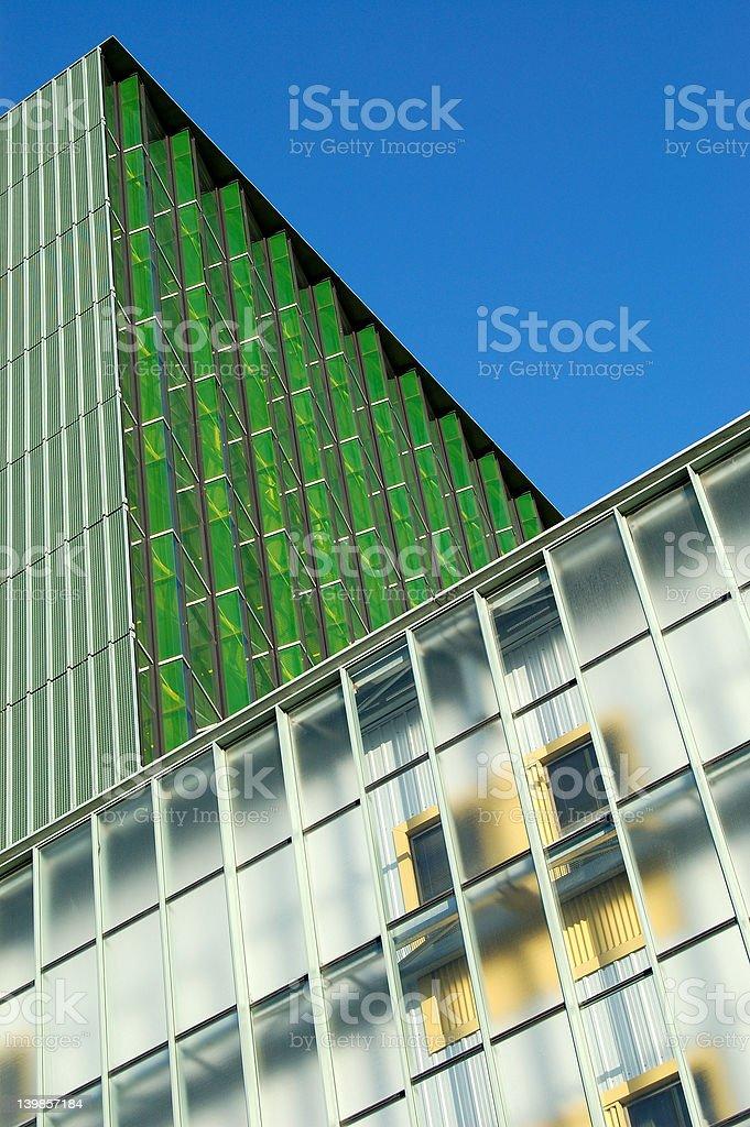 Ultra modern building stock photo