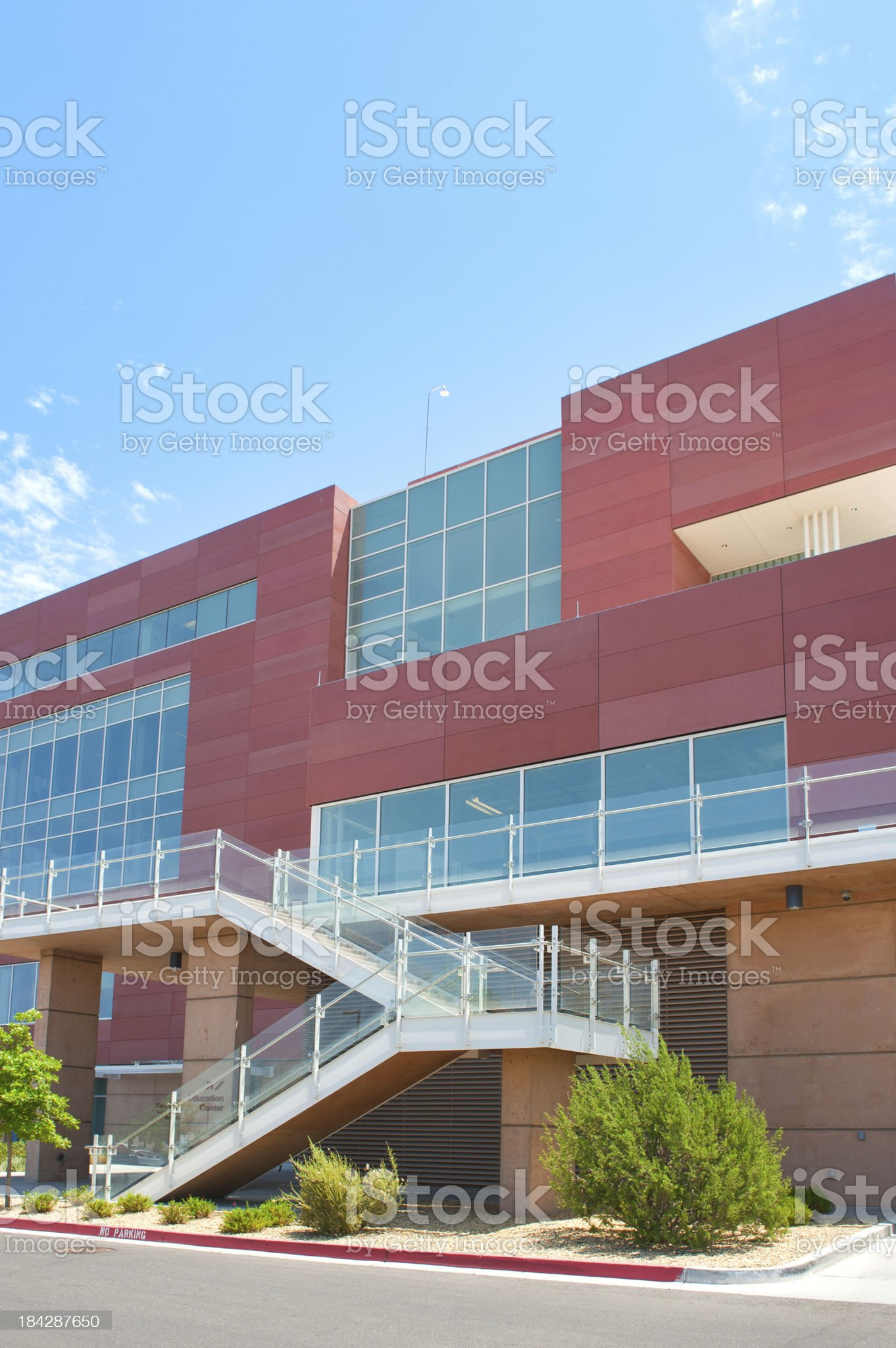 Ultra Modern Hospital and Research Facility royalty-free stock photo