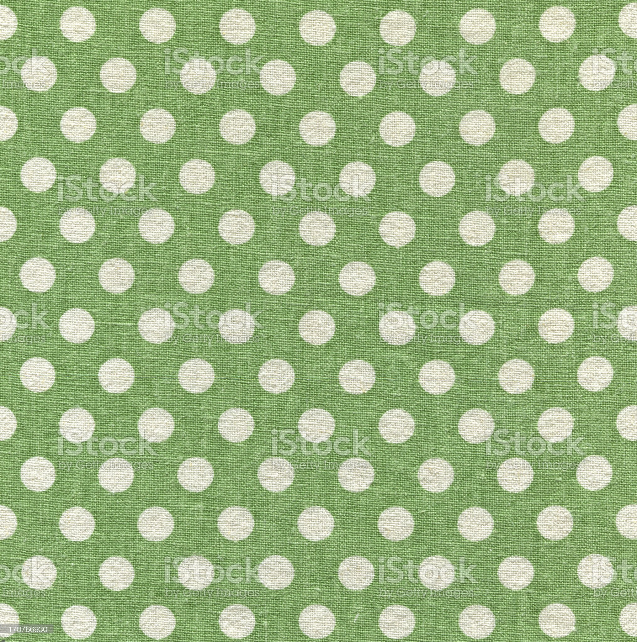 Ultra-high resolution-White circle and green texture background(Pixel:9554 x 9633) royalty-free stock photo