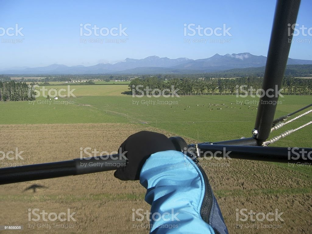 Ultralight adventure royalty-free stock photo