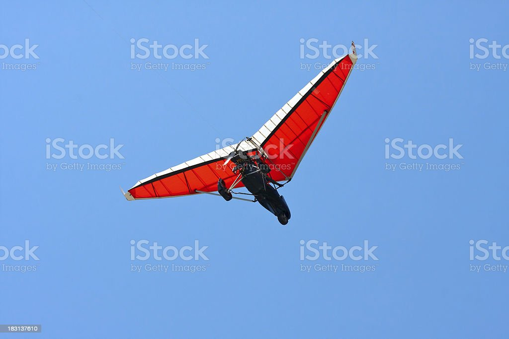 ultralight aircraft royalty-free stock photo