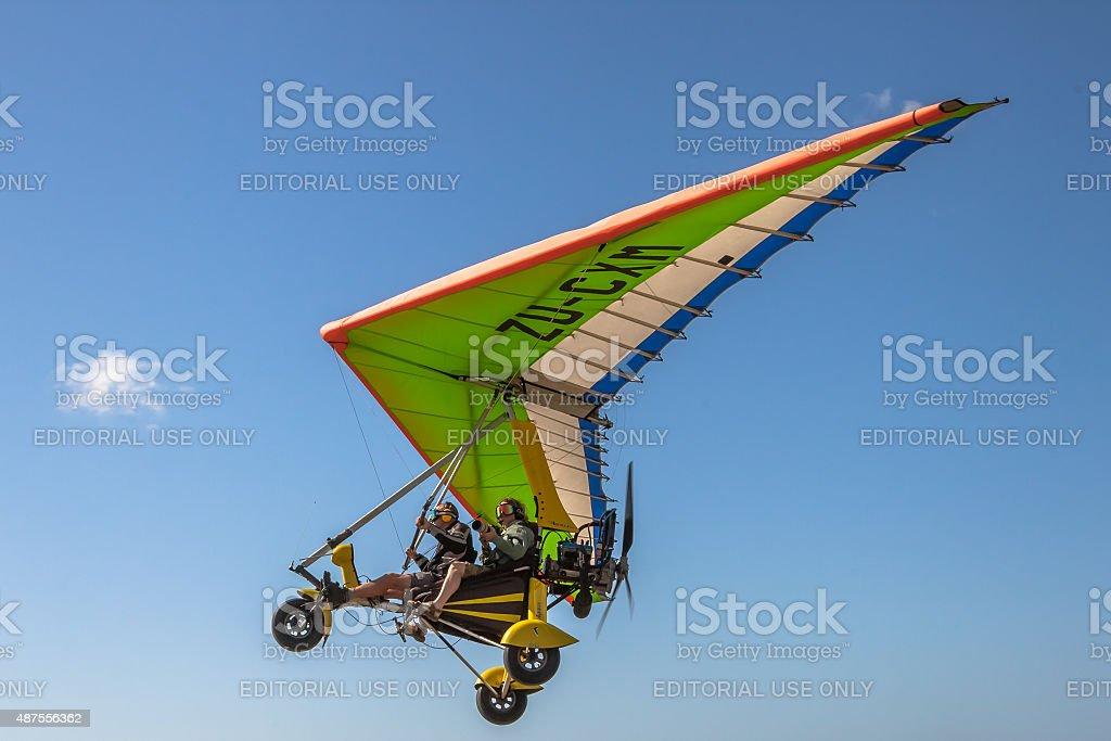 Ultralight Aircraft stock photo
