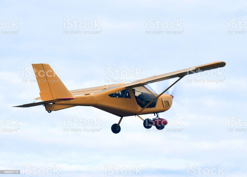 --Ultralight aircraft stock photo