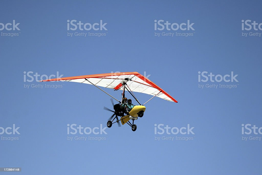 Ultralight Aircraft-1 stock photo