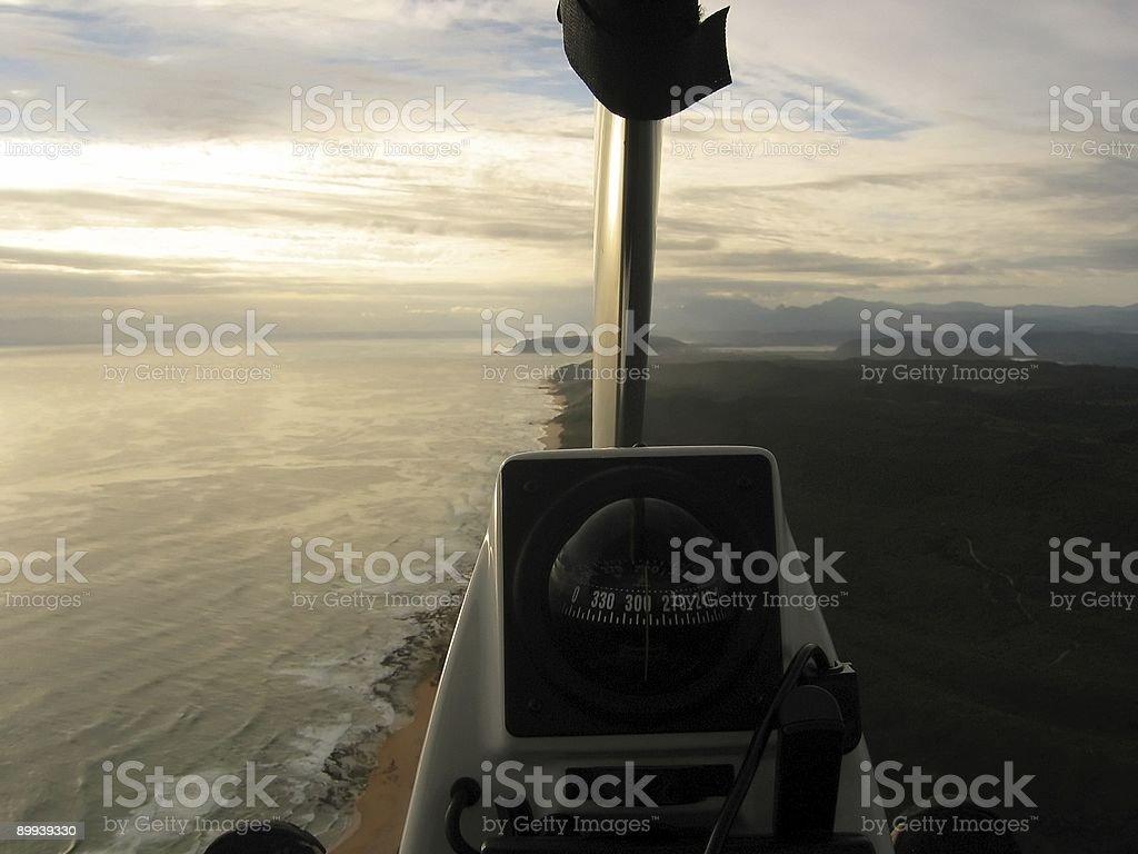 Ultralight freedom stock photo