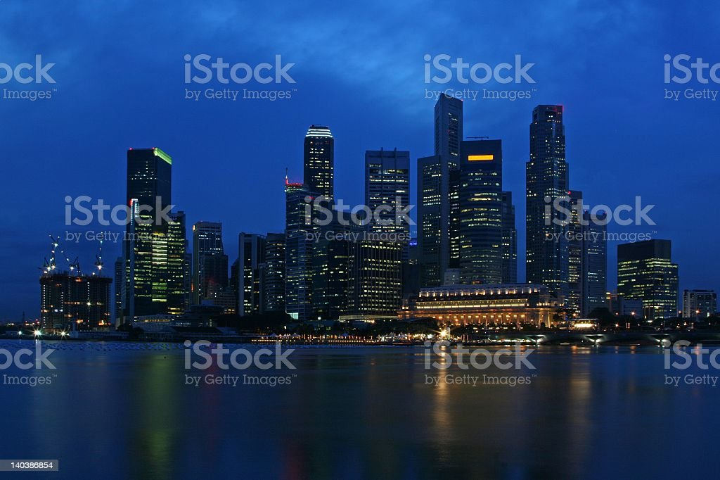 Ultramodern Singapore royalty-free stock photo