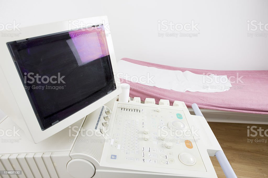 Ultrasound royalty-free stock photo