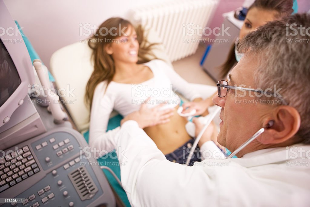 Ultrasound XXL royalty-free stock photo