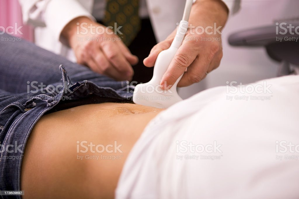 Ultrasound  XXL stock photo